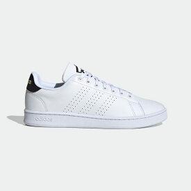 【公式】アディダス adidas テニス アドバンテージ / Advantage メンズ シューズ スポーツシューズ 白 ホワイト FW6670 テニスシューズ スパイクレス