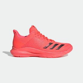 【公式】アディダス adidas バレーボール クレイジーファイト バウンス TOKYO バレーボール / Crazyflight Bounce TOKYO Volleyball レディース シューズ スポーツシューズ ピンク FX1769 スパイクレス tok p0122