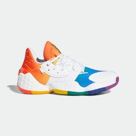 【公式】アディダス adidas バスケットボール ハーデン Vol. 4 プライド / Harden Vol.4 Pride メンズ シューズ スポーツシューズ 白 ホワイト FX4797 バッシュ スパイクレス p1126