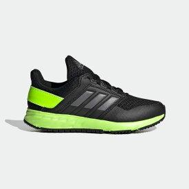 【公式】アディダス adidas ランニング アディダスファイト ランニング / FortaFaito Running キッズ シューズ スポーツシューズ 黒 ブラック FY7244 スパイクレス ランニングシューズ p1030