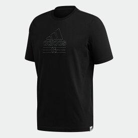 【公式】アディダス adidas ブリリアント ベーシック 半袖Tシャツ / Brilliant Basics Tee メンズ ウェア トップス Tシャツ 黒 ブラック GD3843 半袖
