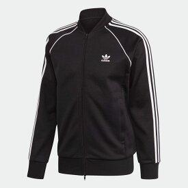 【公式】アディダス adidas アディカラー クラシック Primeblue SST トラックジャケット(ジャージ) オリジナルス レディース メンズ ウェア トップス ジャージ 黒 ブラック GF0198