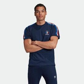 【公式】アディダス adidas 3ストライプ Tシャツ オリジナルス メンズ ウェア トップス Tシャツ 青 ブルー GP1922 半袖 p1030