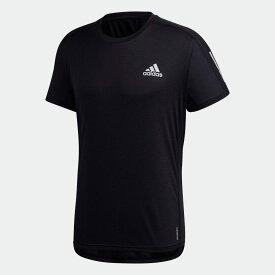 【公式】アディダス adidas ランニング オウン ザ ラン クーラー 半袖Tシャツ / Own the Run Cooler Tee メンズ ウェア トップス Tシャツ 黒 ブラック GC7873 半袖 ランニングウェア