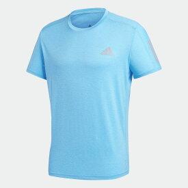 【公式】アディダス adidas ランニング オウン ザ ラン クーラー 半袖Tシャツ / Own the Run Cooler Tee メンズ ウェア トップス Tシャツ 青 ブルー GC7874 半袖 ランニングウェア