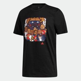 【公式】アディダス adidas バスケットボール Tokyo アイコンTシャツ / Tokyo Icon Tee メンズ ウェア トップス Tシャツ 黒 ブラック GP4020 半袖