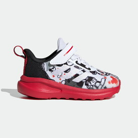 【公式】アディダス adidas ジム・トレーニング ディズニー / ミッキー フォルタラン AC / Mickey FortaRun AC キッズ シューズ スポーツシューズ 白 ホワイト FV4257 スパイクレス トレーニングシューズ p1126