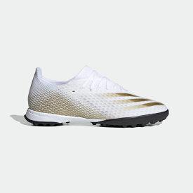 【公式】アディダス adidas サッカー エックス ゴースト.3 TF / ターフ用 / X Ghosted.3 Turf Boots メンズ シューズ スポーツシューズ 白 ホワイト EG8199 スパイクレス p1126