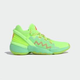 【公式】アディダス adidas バスケットボール D.O.N. Issue #2 メンズ シューズ スポーツシューズ 緑 グリーン FW9035 スパイクレス バッシュ p1126