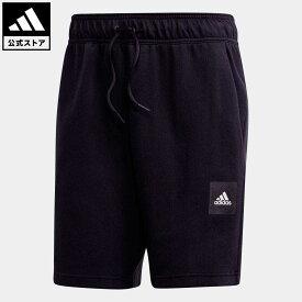 【公式】アディダス adidas 返品可 マストハブ スタジアム ショーツ / Must Haves Stadium Shorts アスレティクス メンズ ウェア ボトムス ハーフパンツ 黒 ブラック FR7159 eoss21ss