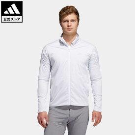 【公式】アディダス adidas 返品可 ゴルフ ストレッチライトウェイト 長袖ウインド / Light Street Jacket メンズ ウェア・服 アウター ジャケット 白 ホワイト FS6969 notp