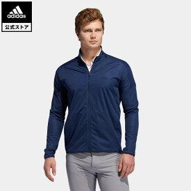 【公式】アディダス adidas 返品可 ゴルフ ストレッチライトウェイト 長袖ウインド / Light Street Jacket メンズ ウェア・服 アウター ジャケット 青 ブルー FS6970 notp