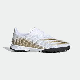 【公式】アディダス adidas サッカー エックス ゴースト.3 / ターフ用 / X Ghosted.3 Turf Boots キッズ シューズ スポーツシューズ 白 ホワイト EG8214 スパイクレス p1126