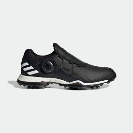 【公式】アディダス adidas ゴルフ ウィメンズ パワーラップ ボア 【ゴルフ】 / W POWERWRAP BOA レディース シューズ スポーツシューズ 黒 ブラック EG9722 スパイクレス