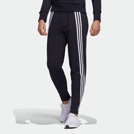 【公式】アディダス adidas 3ストライプス ダブルニット ジッパーパンツ / 3-Stripes Doubleknit Zipper Pants アスレティクス レディース ウェア ボトムス パンツ 黒 ブラック FR5114 p0122