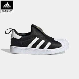 【公式】アディダス adidas 返品可 SS 360 キッズ・ジュニア オリジナルス キッズ シューズ・靴 スニーカー スリッポン 黒 ブラック FZ2988 ローカット