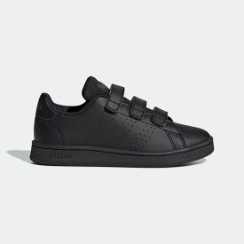 【公式】アディダス adidas テニス 子供用 アドバンテージ [Advantage Shoes] レディース メンズ シューズ スポーツシューズ 黒 ブラック EF0222 テニスシューズ スパイクレス
