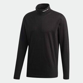 【公式】アディダス adidas アドベンチャー ベースレイヤーTシャツ オリジナルス メンズ ウェア トップス Tシャツ 黒 ブラック GD5598 ロンt