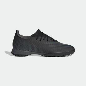 【公式】アディダス adidas サッカー エックス ゴースト.3 TF / ターフ用 / X Ghosted.3 Turf Boots メンズ シューズ スポーツシューズ 黒 ブラック EH2835 スパイクレス p1126