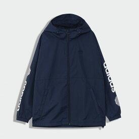 【公式】アディダス adidas Regen ブロック シェル ジャケット オリジナルス メンズ ウェア アウター ウインドブレーカー 青 ブルー GE1336