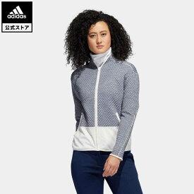 【公式】アディダス adidas ゴルフ COLD.RDY ファブリックミックス長袖ジャケット 【ゴルフ】/ Fabric Mix Jacket レディース ウェア アウター ジャケット 青 ブルー FS6376 p1023 p0409