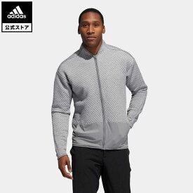 【公式】アディダス adidas 返品可 ゴルフ COLD.RDY ファブリックミックス長袖ジャケット / Fabric Mix Jacket メンズ ウェア・服 アウター ジャケット グレー FS6919 notp