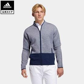 【公式】アディダス adidas 返品可 ゴルフ COLD.RDY ファブリックミックス長袖ジャケット / Fabric Mix Jacket メンズ ウェア・服 アウター ジャケット 青 ブルー FS6925 notp