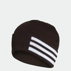 【公式】アディダス adidas 3ストライプス ウーリー / 3-Stripes Woolie レディース メンズ アクセサリー 帽子 ウーリー 黒 ブラック FS9014 ニット帽