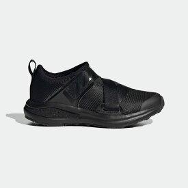 【公式】アディダス adidas ランニング フォルタラン ランニング 2020 / FortaRun Running 2020 キッズ シューズ スポーツシューズ 黒 ブラック FV3360 ランニングシューズ スパイクレス