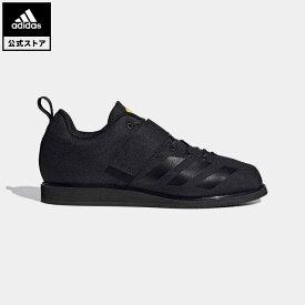 【公式】アディダス adidas 返品可 ウェイトリフティング Powerlift 4 レディース メンズ シューズ・靴 スポーツシューズ 黒 ブラック FV6599 トレーニングシューズ