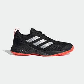 【公式】アディダス adidas テニス コートコントロール M / Court Control M メンズ シューズ スポーツシューズ 黒 ブラック FX7473 テニスシューズ スパイクレス