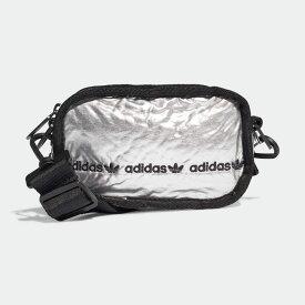 【公式】アディダス adidas ミニ エアライナーバッグ オリジナルス レディース アクセサリー バッグ ウエストバッグ シルバー GF3190 ボディバッグ ウエストポーチ p0304