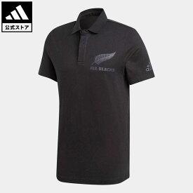 【公式】アディダス adidas 返品可 ラグビー オールブラックス サポーターポロシャツ / All Blacks Supporters Polo Shirt メンズ ウェア・服 トップス ポロシャツ 黒 ブラック FS0705