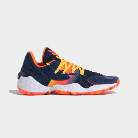 【公式】アディダス adidas バスケットボール ハーデン Vol.4 / Harden Vol. 4 メンズ シューズ スポーツシューズ 青 ブルー FX9202 スパイクレス バッシュ p0122