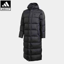 【公式】【ラッピング不可】アディダス adidas アウトドア ライトダウンコート / Light Down Coat メンズ ウェア アウター ダウン 黒 ブラック GE9995 ダウンジャケット p0409