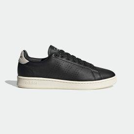 【公式】アディダス adidas テニス アドバンテージ / Advantage メンズ シューズ スポーツシューズ 黒 ブラック FV8501 スパイクレス テニスシューズ