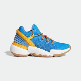 【公式】アディダス adidas バスケットボール D.O.N. Issue #2 キッズ シューズ スポーツシューズ 青 ブルー FX1595 スパイクレス バッシュ