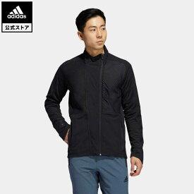 【公式】アディダス adidas ジム・トレーニング COLD. RDY トレーニングジャケット / COLD. RDY Training Jacket メンズ ウェア アウター ジャケット ジャージ 黒 ブラック GM0932 p0409