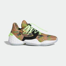 【公式】アディダス adidas バスケットボール ハーデン Vol. 4 × ダニエル・パトリック / Harden Vol.4 × Daniel Patrick メンズ シューズ スポーツシューズ 緑 グリーン FY2789 スパイクレス バッシュ