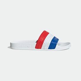 【公式】アディダス adidas アディレッタ サンダル / Adilette Slides オリジナルス レディース メンズ シューズ サンダル 赤 レッド G55375