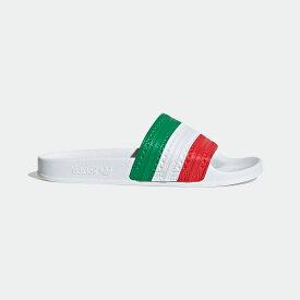 【公式】アディダス adidas アディレッタ サンダル / Adilette Slides オリジナルス レディース メンズ シューズ サンダル 赤 レッド G55378