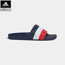 【公式】アディダス adidas 返品可 アディレッタ サンダル / Adilette Slides オリジナルス レディース メンズ シューズ サンダル 赤 レッド G55379 fathersday
