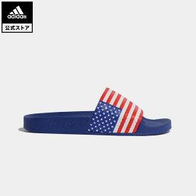 【公式】アディダス adidas 返品可 アディレッタ サンダル / Adilette Slides オリジナルス レディース メンズ シューズ サンダル 赤 レッド G55380 fathersday