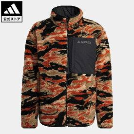【公式】アディダス adidas アウトドア テレックス エクスプロア シェルパフリース / Terrex Explore Sherpa Fleece アディダス テレックス メンズ ウェア アウター ジャケット 黒 ブラック GE9897 p0409