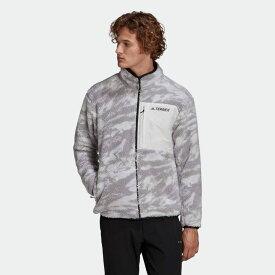 【公式】アディダス adidas アウトドア テレックス エクスプロア シェルパフリース / Terrex Explore Sherpa Fleece アディダス テレックス メンズ ウェア アウター ジャケット グレー GE9912 p0122