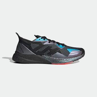 【公式】アディダス adidas ランニング X9000L3 メンズ シューズ スポーツシューズ 黒 ブラック EH0057 ランニングシューズ スパイクレス