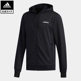 【公式】アディダス adidas 返品可 ジム・トレーニング ファスト アンド コンフィデント スウェット / Fast and Confident Sweatshirt メンズ ウェア トップス パーカー(フーディー) ジャージ 黒 ブラック FL0232 トレーナー