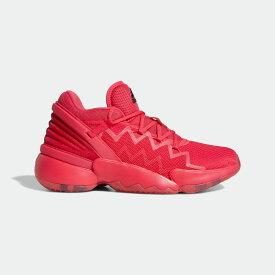 【公式】アディダス adidas バスケットボール D.O.N. Issue #2 メンズ シューズ スポーツシューズ ピンク FW9039 バッシュ スパイクレス p0122
