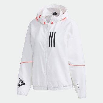 【公式】アディダス adidas adidas W.N.D. ジャケット / adidas W.N.D. Jacket アスレティクス レディース ウェア アウター ウインドブレーカー 白 ホワイト GF0131