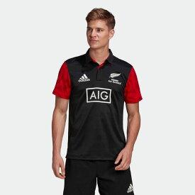 【公式】アディダス adidas ラグビー マオリ ポロシャツ メンズ ウェア トップス ポロシャツ 黒 ブラック GH5020 p1126